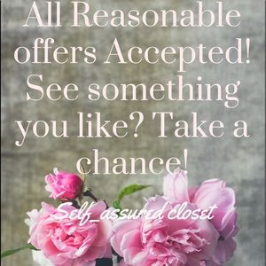 🌷Accepting Reasonable offers🌷